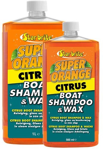 Starbrite Citrus Boot Shampoo & Wax
