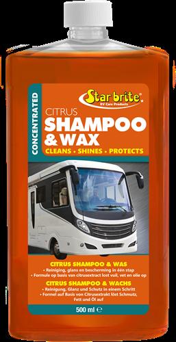 Starbrite Citrus Shampoo & Was 0.5L