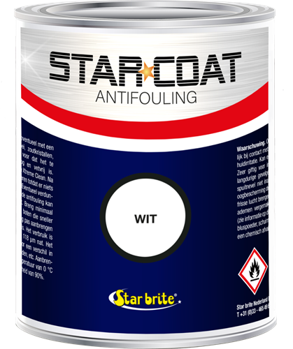 Star Coat Antifouling Wit - 1,0 Liter