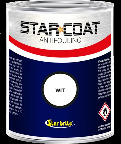 Starbrite Marine Star Coat Antifouling Wit - 1,0 Liter