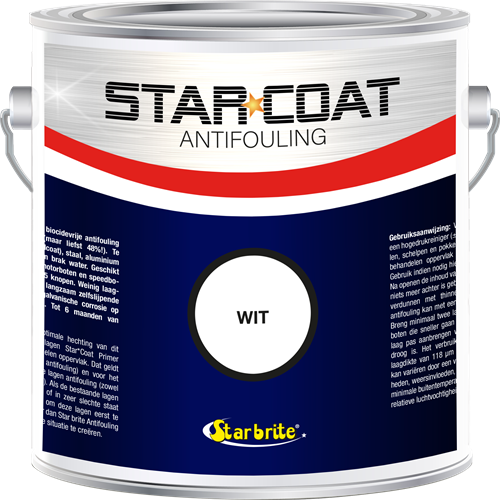 Star Coat Antifouling Wit - 3,0 Liter