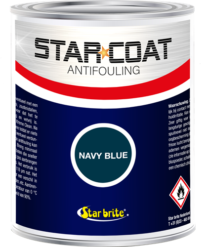 Star Coat Antifouling Navy Blue - 1,0 Liter