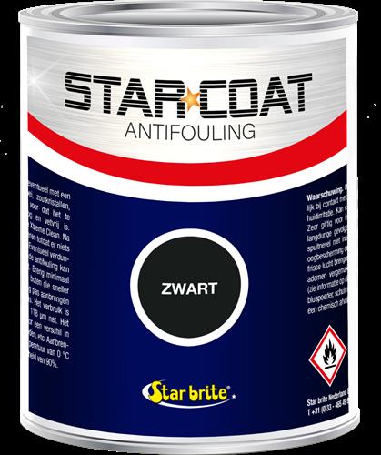 Star Coat Antifouling Zwart - 1,0 Liter