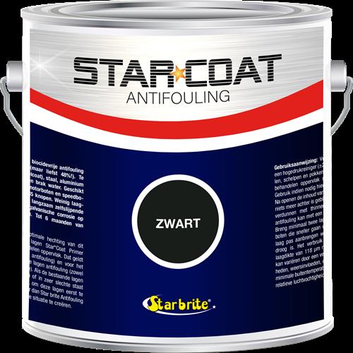 Star Coat Antifouling Zwart - 3,0 Liter